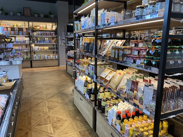 食品販売ブースの写真